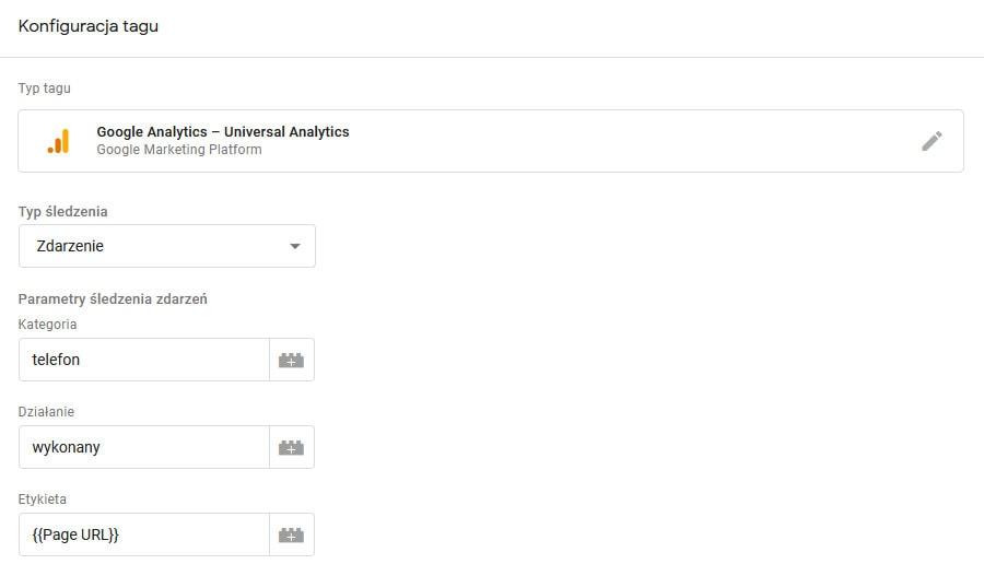 sledzenie polaczen telefonicznych za pomoca Google Tag Manager 2 Śledzenie połączeń telefonicznych za pomocą Google Tag Manager 4