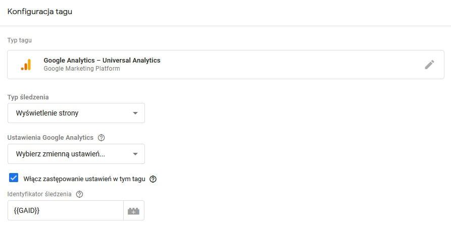 google analytics via GTM Połączenie wtyczki Contact Form 7 i Google Tag Menagera na platformie WordPress 8